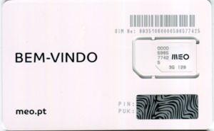 Meo Sim Card Portogallo