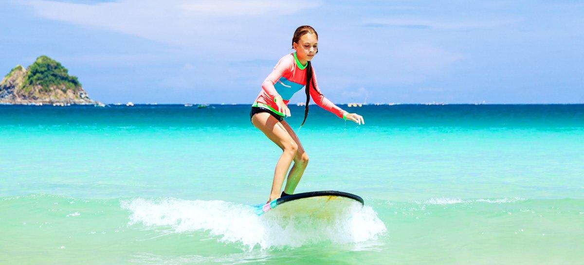 Scuole Surf a Porto - In azione