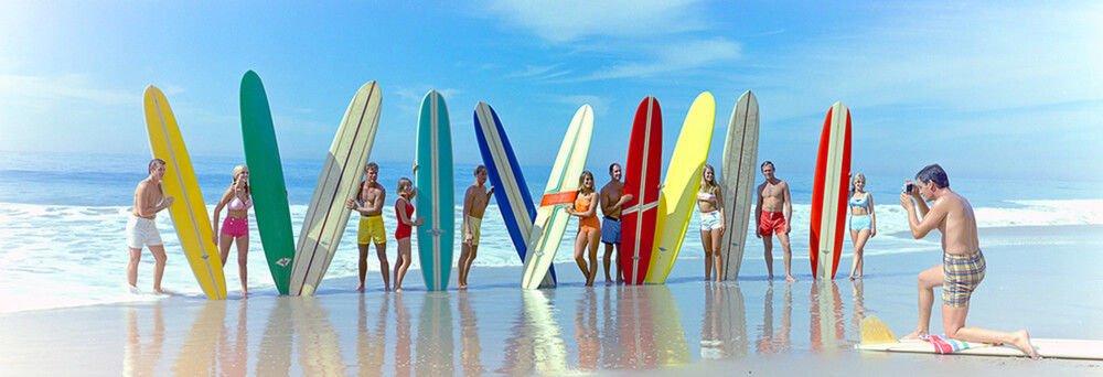 tavole da surf e materiale tecnico